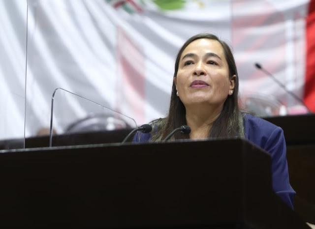 Celebra Verónica Juárez cancelación de candidatura a Salgado Macedonio