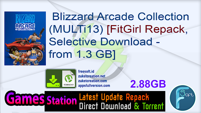 Blizzard Arcade Collection (MULTi13) [FitGirl Repack, Selective Download – from 1.3 GB]