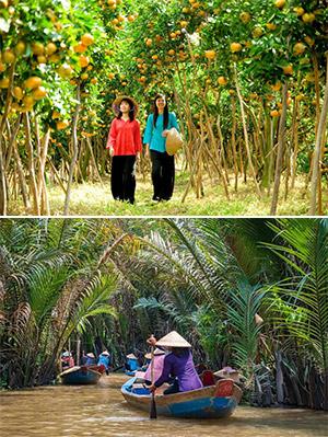 Tour Du lịch Miệt Vườn Miền Tây - Sóc Trăng - Cần Thơ - Thiền Viện Trúc Lâm