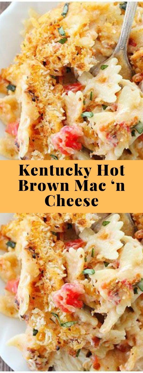 Kentucky Hot Brown Mac 'n Cheese #mac #cheese #maincourse #kentucky