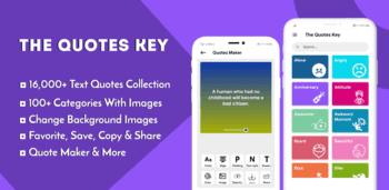 quotes key app