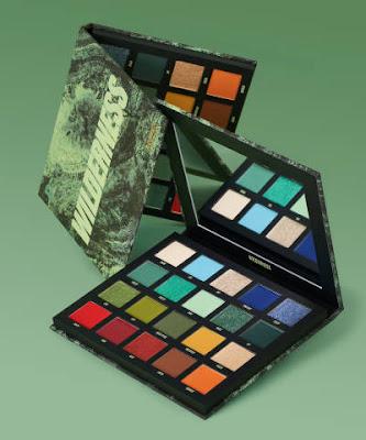 Beauty Bay green Palette
