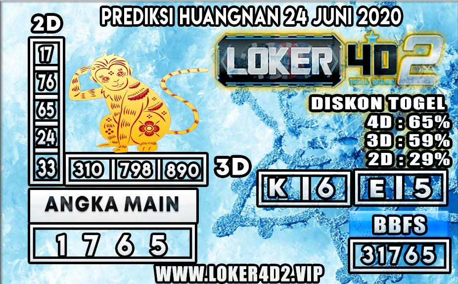 PREDIKSI TOGEL HUANGNAN LOKER4D2 24 JUNI 2020