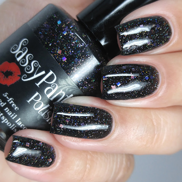 Sassy Pants Polish - Black Widow