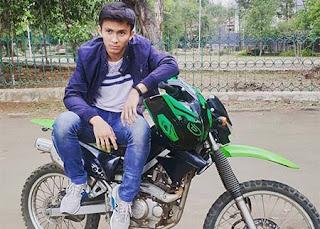 Thoriq Hafidz Naik Motor