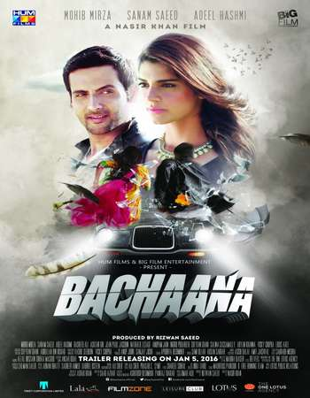 Poster Of Bachaana 2016 Pakistani 700MB HDTVRip x264 Watch Online Free Download downloadhub.net