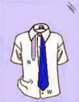 1. Tutorial Cara Memasang Dasi SMP yang Mudah dan Rapi
