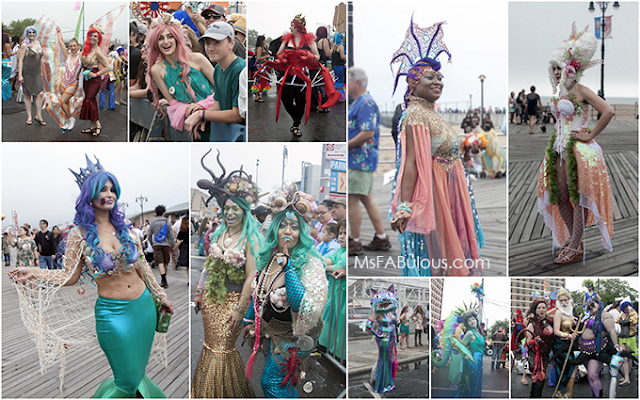 coney island mermaid 2017