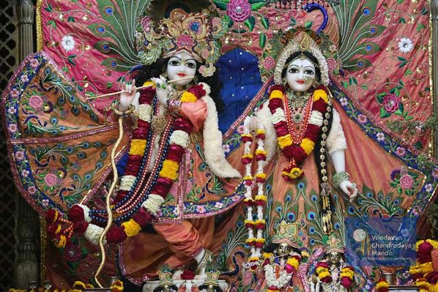 Sri Radha Vrindavan Chandra - Vrindavan - India - Sri Krishna - Radha