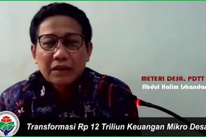 Kemendes Transformasi UPK Eks PNPM Jadi Lembaga Keuangan Desa
