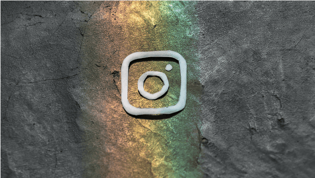 Logo Instagram rainbow