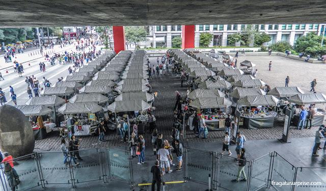 Feira de Antiguidades do MASP, São Paulo