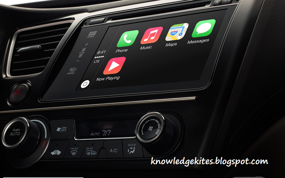 CarPlay with New iOS 7.1 update in 2014