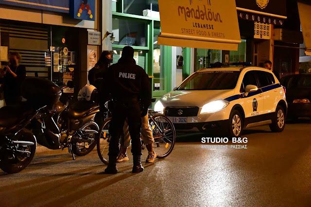 Τροχαίο με ποδήλατο εν μέσω lockdown στο Ναύπλιο