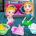 لعبة بيبي هازل غسل وتجفيف الملابس
