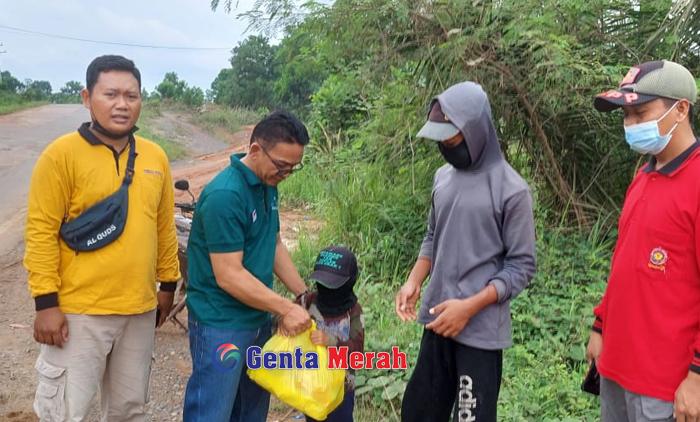 """Pasca Viral Kerap Jadi """"Pak Ogah"""",  Ortu Charles Dapat Pembinaan dari Dinsos  Mesuji"""