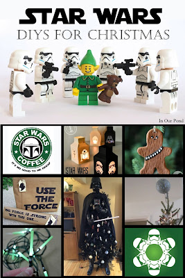 Star Wars Crafts for Christmas from In Our Pond