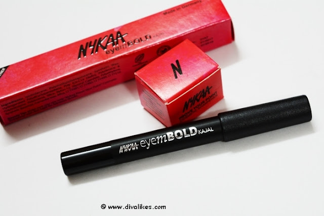 Nykaa EyemBOLD Kajal Review