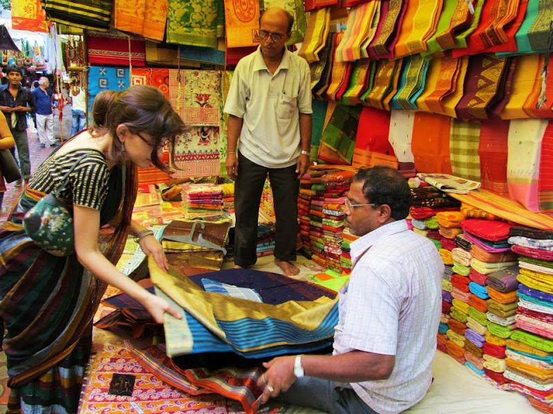 De espa a a la india en busca de un sari - Telas de la india online ...