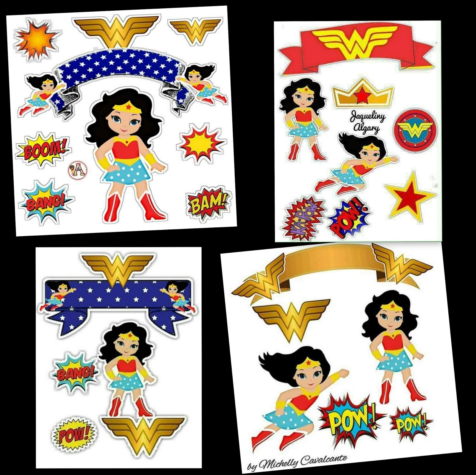 image regarding Batman Cupcake Toppers Printable titled Question Lady: Totally free Printable Cake Toppers. - Oh My Fiesta