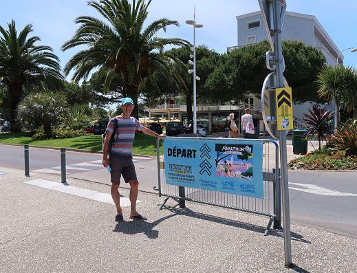 Départ Royan Marathon