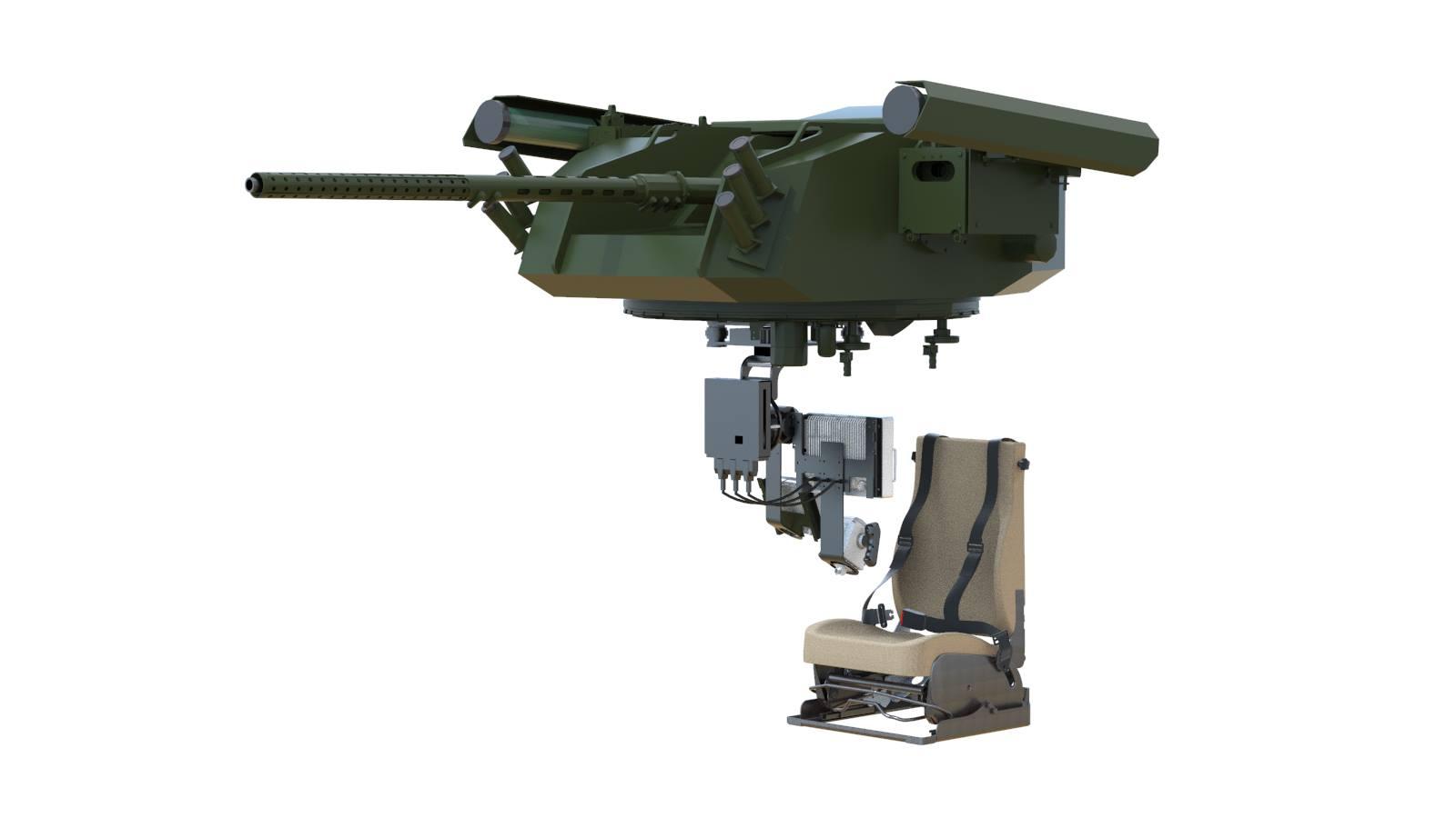 Приватна компанія показала новий бойовий модуль Воля-Д