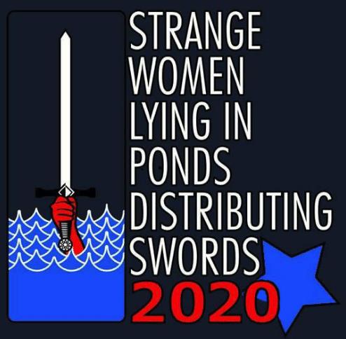 Strange women lying in ponds distributing swords 2020. Functioning Adult marchmatron.com