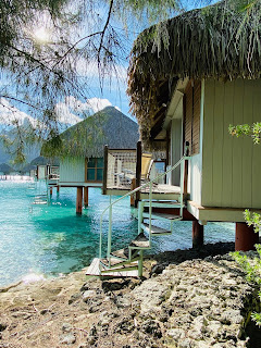 Review Le Meridien Bora Bora Classic Guest room with resort view