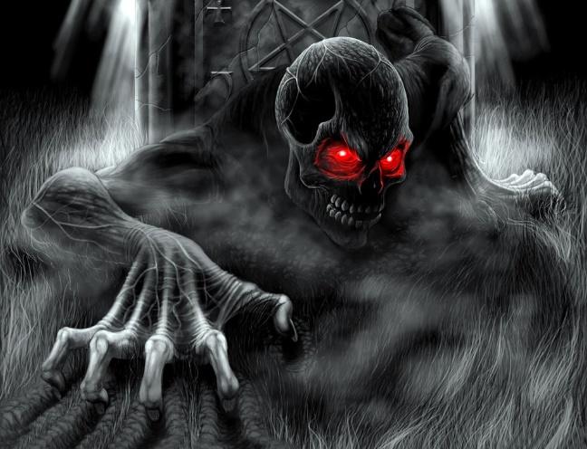 Demônio é flagrado
