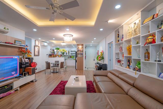 Thiết kế nội thất căn hộ Goldmark City