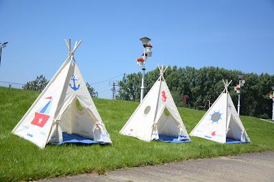 indijanski šatori za decu