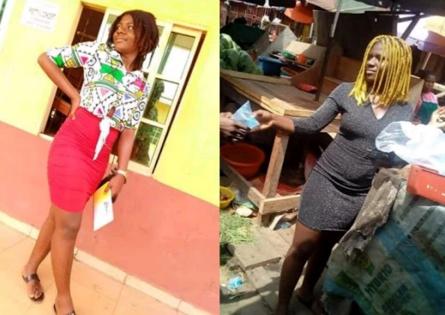 19-year-old Mass Communication student who hawks satchet water in Owerri (Photos)