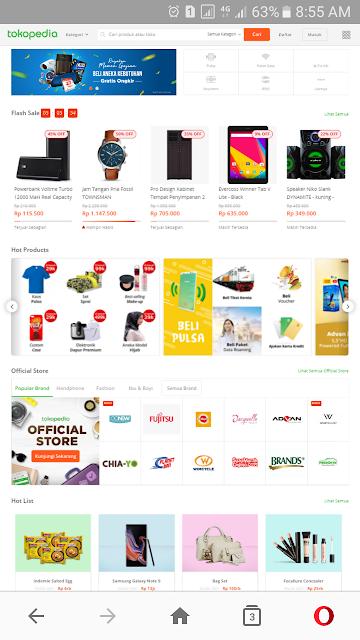 Tokopedia - Voucher Cashback 50% s.d 30 Ribu Transaksi Pertama