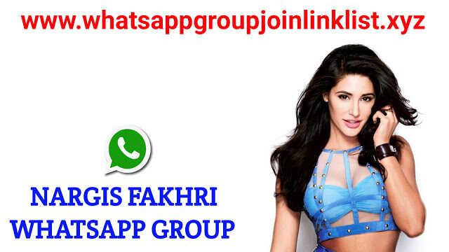 Nargis Fakhri Fans Whatsapp Group Join Link List
