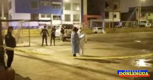 Venezolano asesinado en una calle de Perú mientras tomaba caña con otros