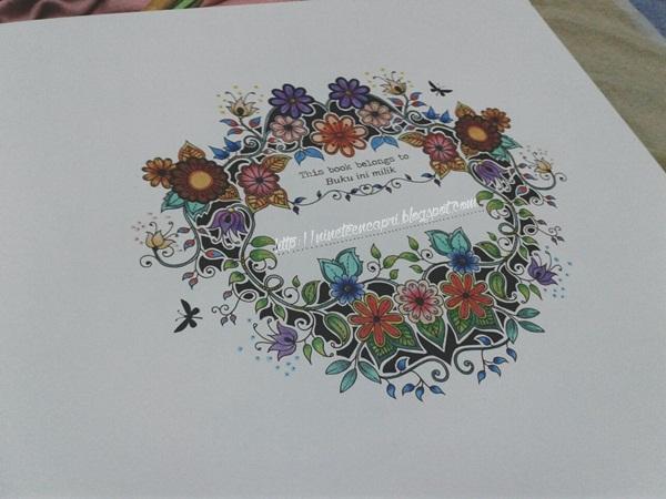 Colouring Book Secret Garden By Johanna Basford