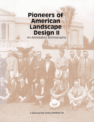Cover of publication Features sepia toned image of group of men posing for photo