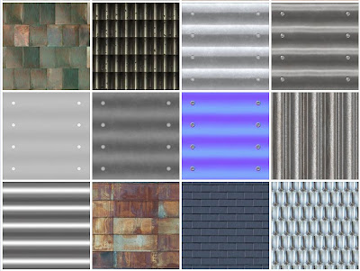 new_tileable_textures_roofs_metal - preview #1