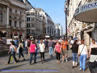Centro peatonal de Londres