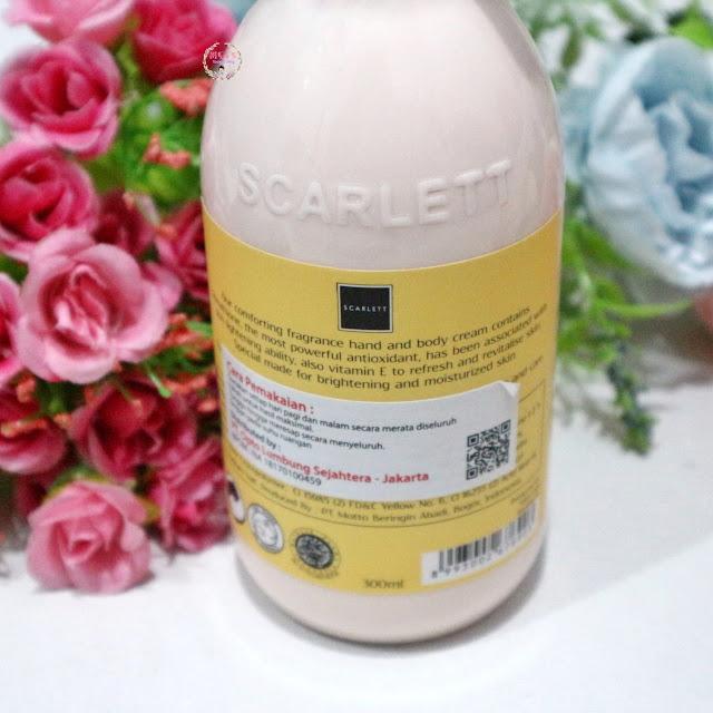 scarlett body lotion freshy