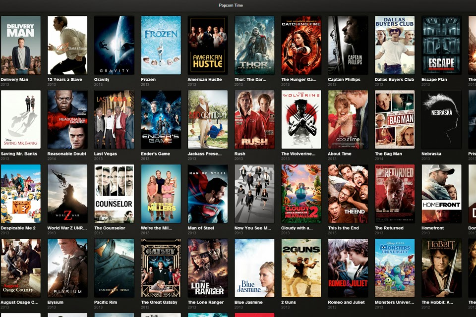 Popcorn Time: Film in streaming gratis con il Torrent