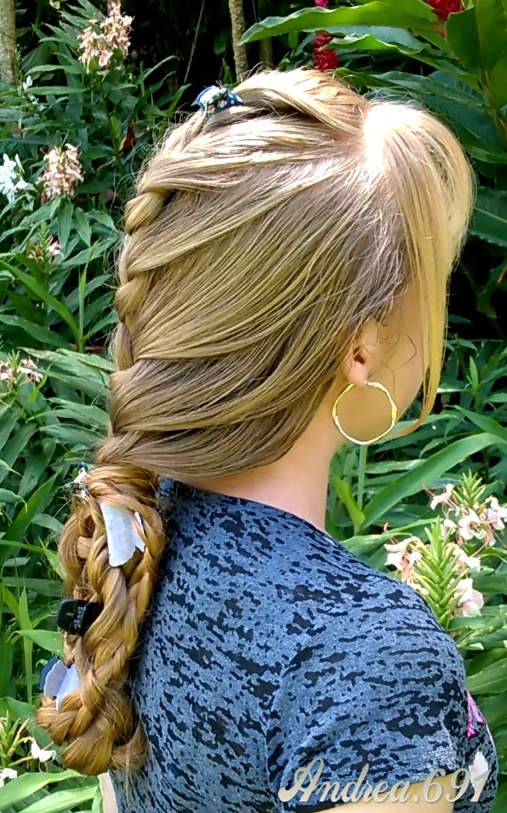 Braids & Hairstyles for Super Long Hair: Wrap-around ...