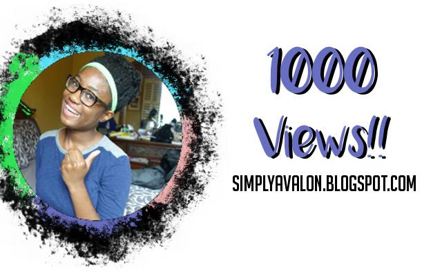 We Hit 1000 views!!