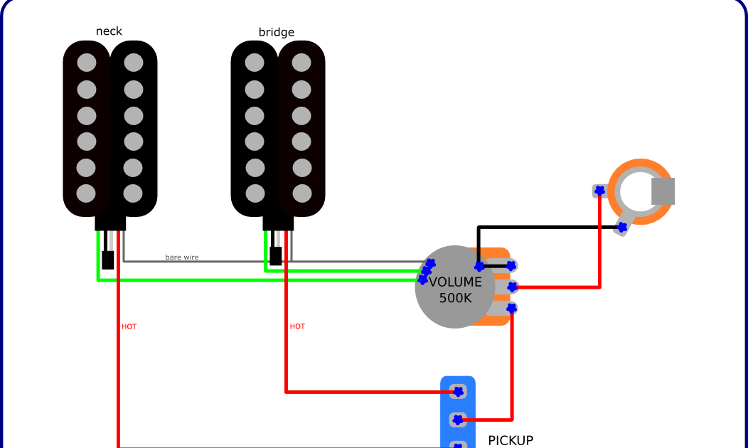 The Guitar Wiring Blog  diagrams and tips: Simple Wiring