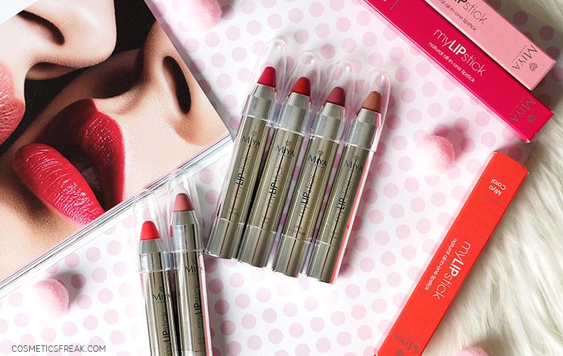 Miya Cosmetics myLIPstick - naturalna szminka pielęgnująca all-in-one [NOWOŚĆ]