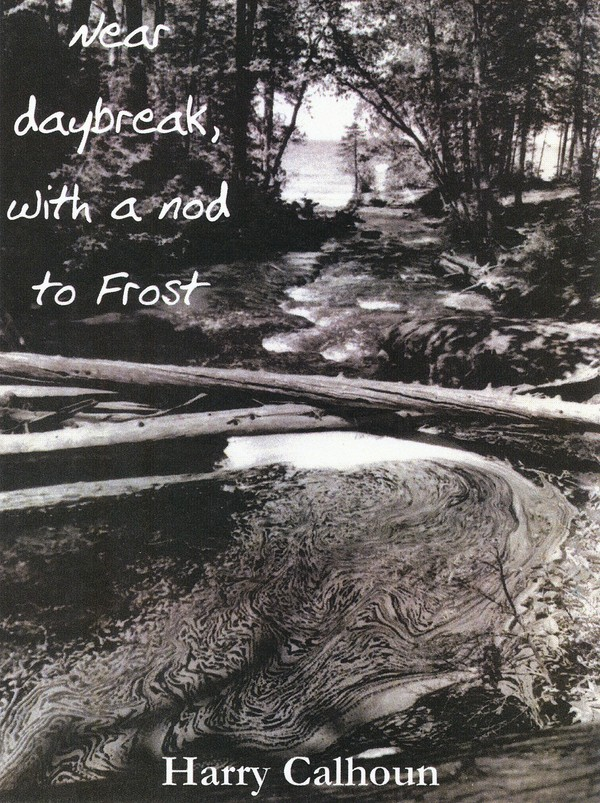 Near daybreak, with a nod to Frost book cover