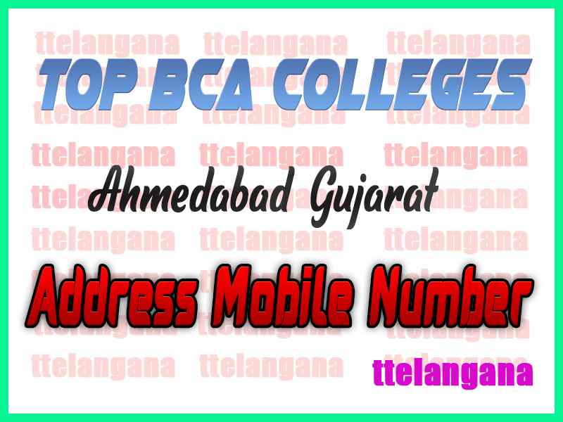 Top BCA Colleges in Ahmedabad Gujarat
