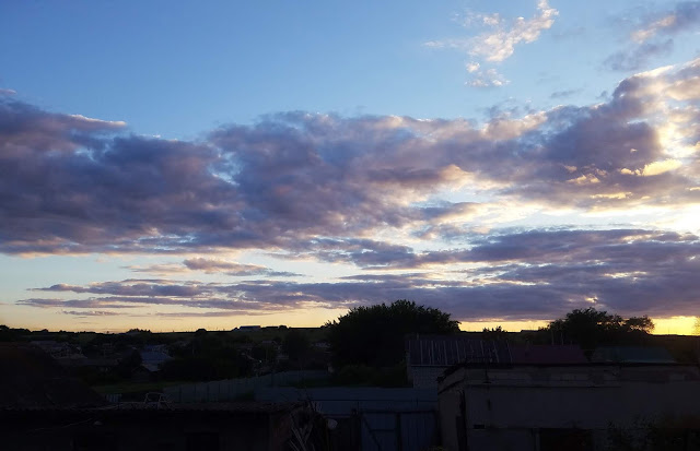 мои 92 дня лета,  красота вечернего неба