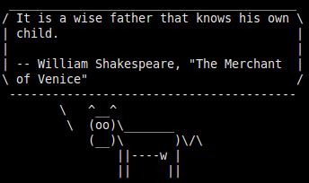 Cara Menggunakan Printah Fortune di Ubuntu 16.04