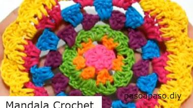 Cómo Tejer Mandala Crochet / DIY